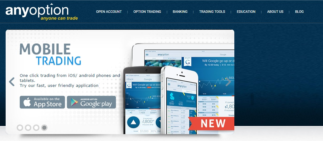AnyOption Binary Options Broker Review