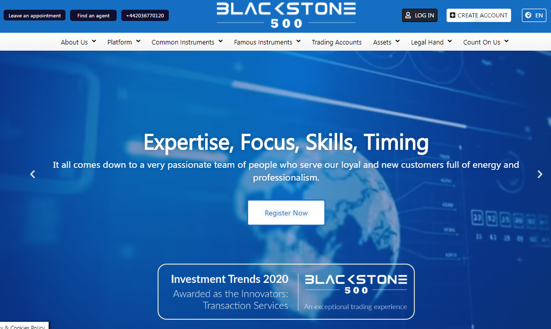 Reviewing Blackstone500 – Can You Start Trading Without Worries Now?