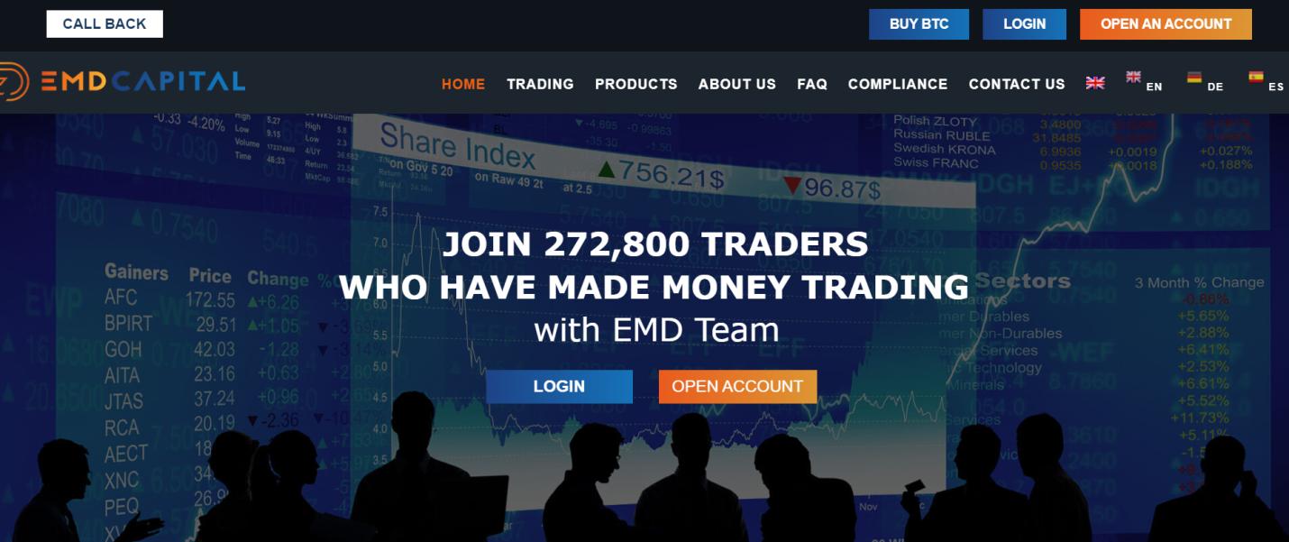EMD Capital website