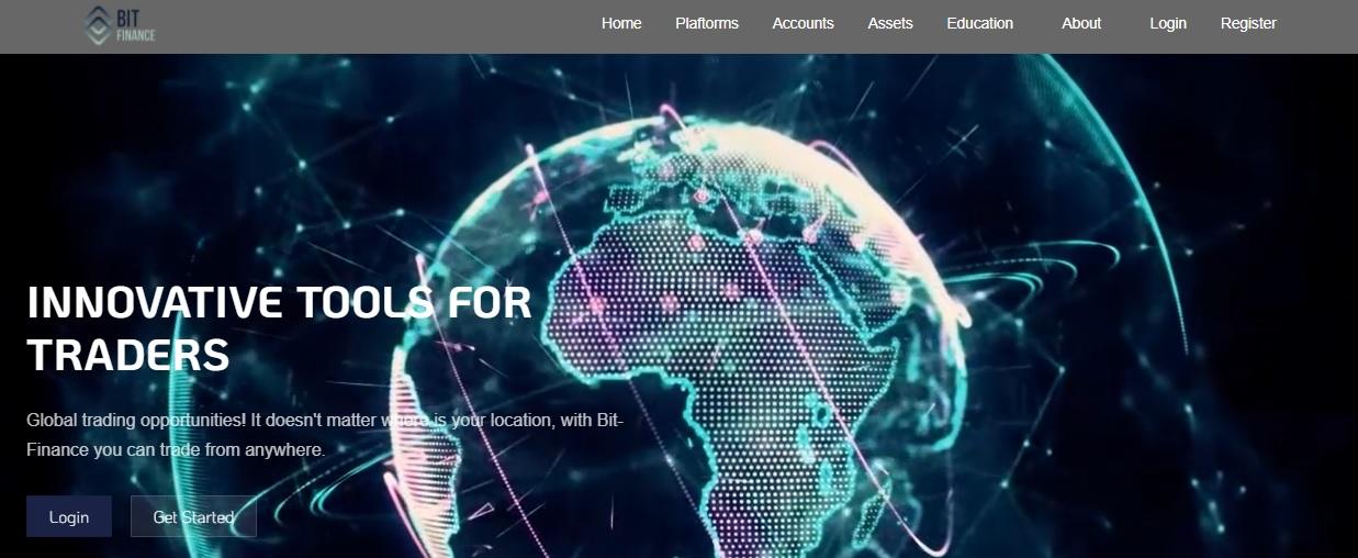 Bit-Finance website