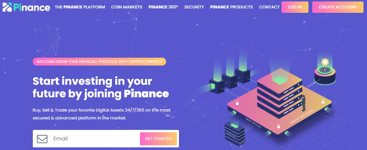 Pinance website